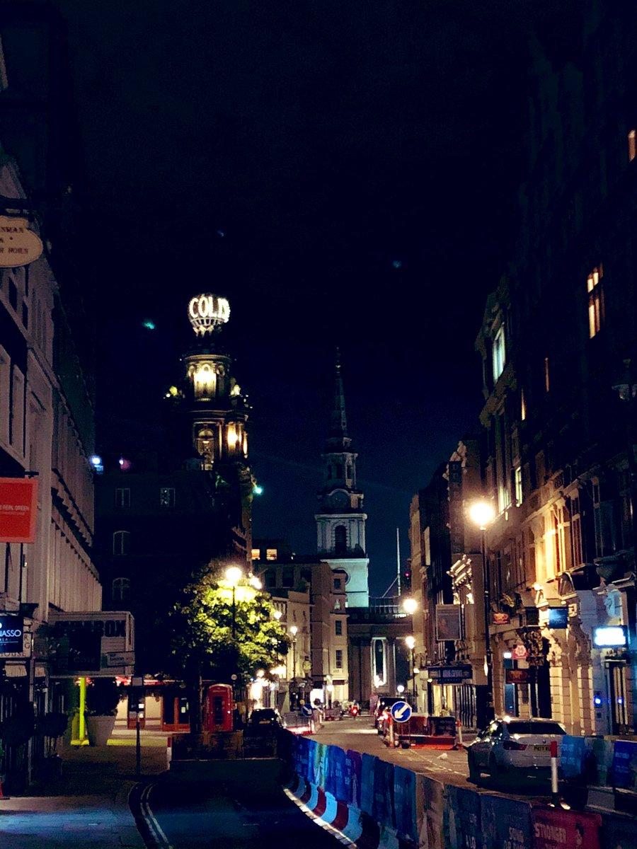 RT @DavidHHeadley: Magical London this evening. Theatreland empty. https://t.co/UOKGagtDIW