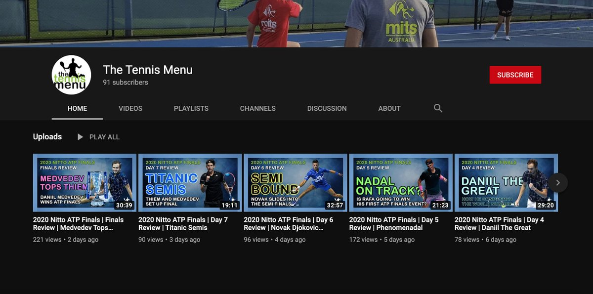 @marcsophoulis @LiyanageShane @BreakPointPod 📲 Make sure you're SUBSCRIBED to the The Tennis Menu to catch today's year-end show and heaps more!   YouTube 👉 https://t.co/0ju4MxdTt2 Apple 👉 https://t.co/MeGAEXLFPp  Spotify 👉 https://t.co/BKbEt1qPis  #Tennis https://t.co/o73qBhg0tk