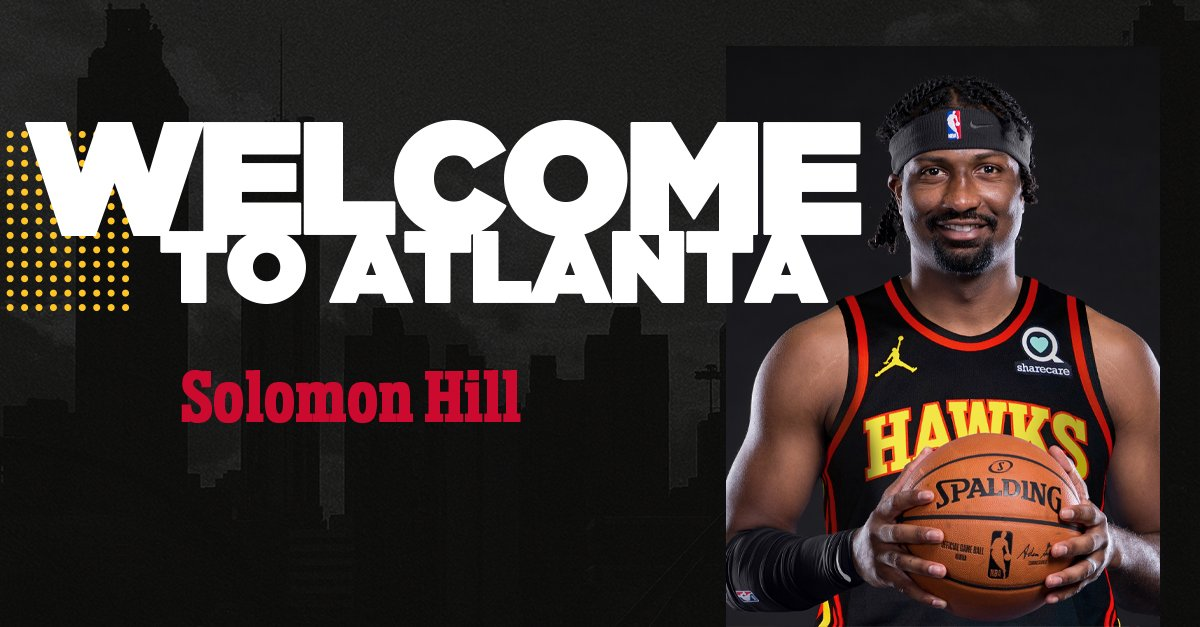 Welcome to Atlanta, @solohill!  #TrueToAtlanta