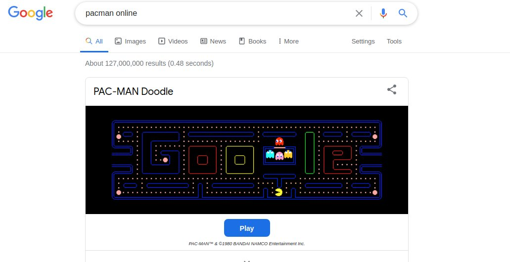 @Google Hello   I am wondering whey when I hit the Play button the game box it is tinny.  Check the second image.  @GoogleDoodles #GoogleDoodle  #Google