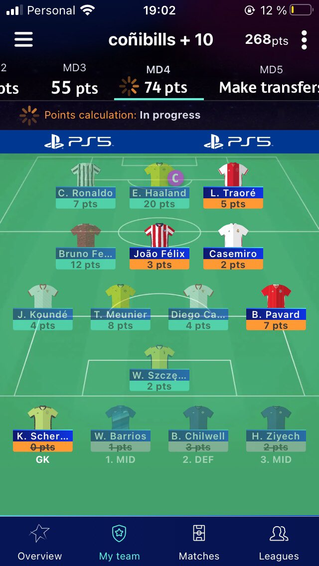 Well kinda saved at the end by traore assist and pavard CS, hoping for the 10k OR, how you guys did? #UCLfantasy