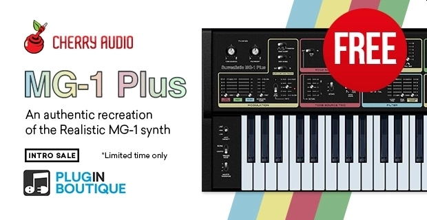 Cherry Audio Surrealistic MG-1 Plus Synthesizer FREE !! 😍  https://t.co/guuE4gKzSc   @PluginBoutique #plugindeals #pluginsales #DTM #DTMer https://t.co/7QhWyl6QW0