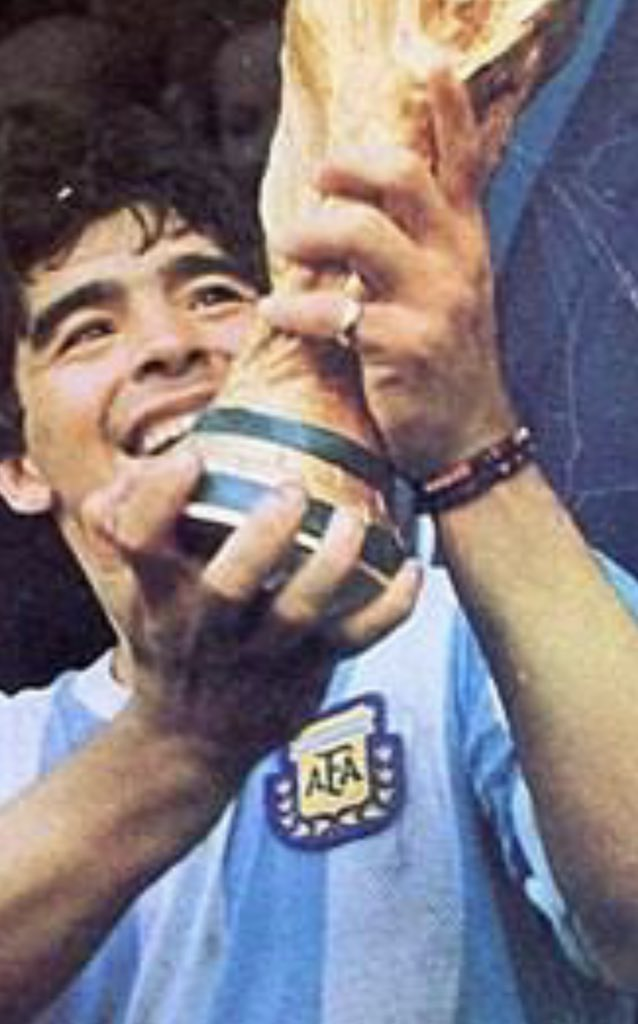 Diego Maradona....you made football even more beautiful. You will be sorely missed and may you entertain and enthral heaven as you did this world. RIP....