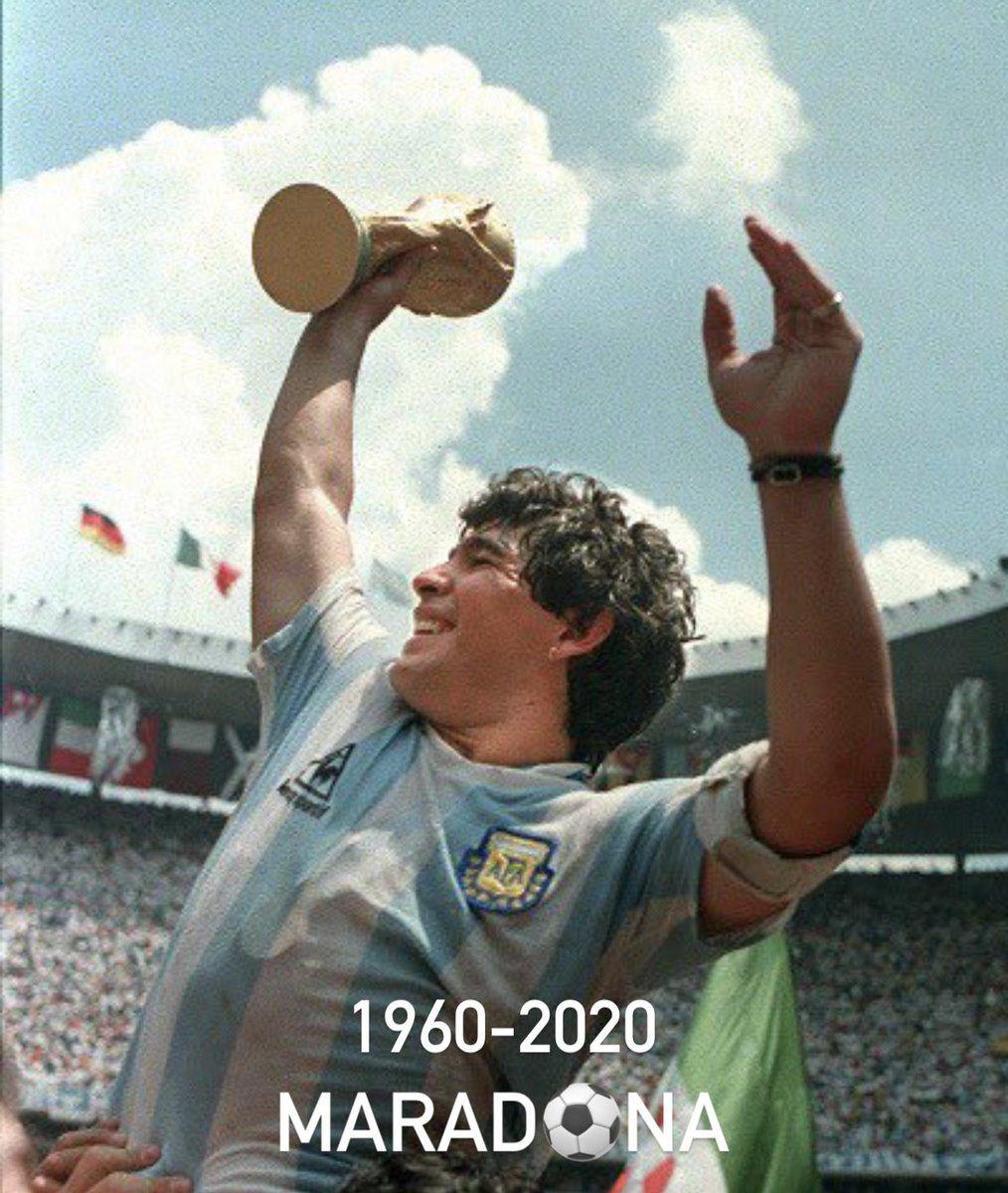 Rest in peace, legend. #Maradona 🙏🏻