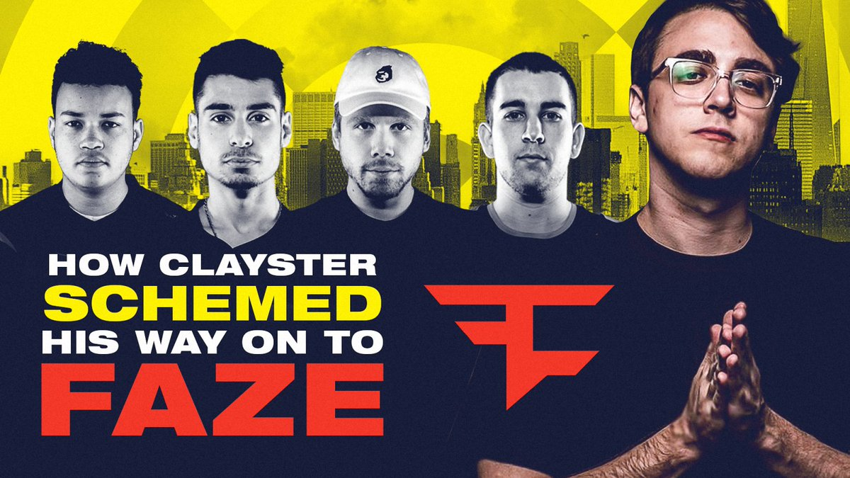 New York Subliners - Two sides to every story.  @Clayster swears his finesse onto Faze was an accident... @ZooMaa is not so sure. Hear how it all went down in episode two of Unfazed. #NYSL  📺 Watch the full episode: