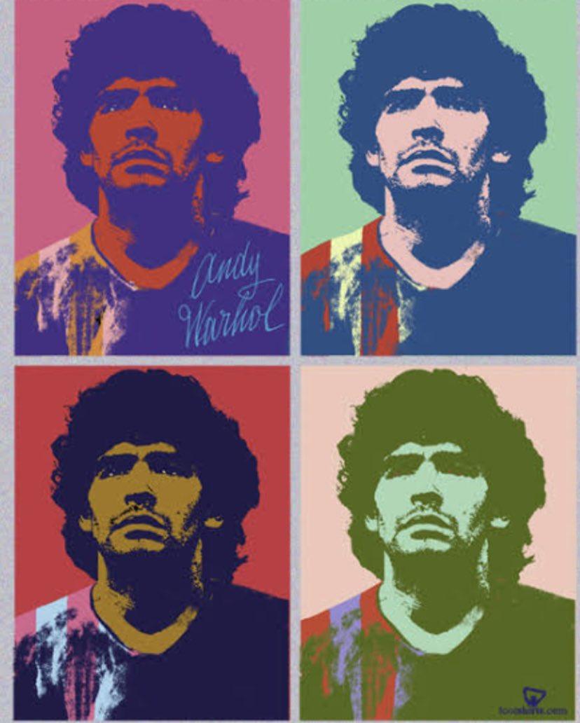 RIP #Maradona - the very best ! #Icon #diegomaradona #Legend