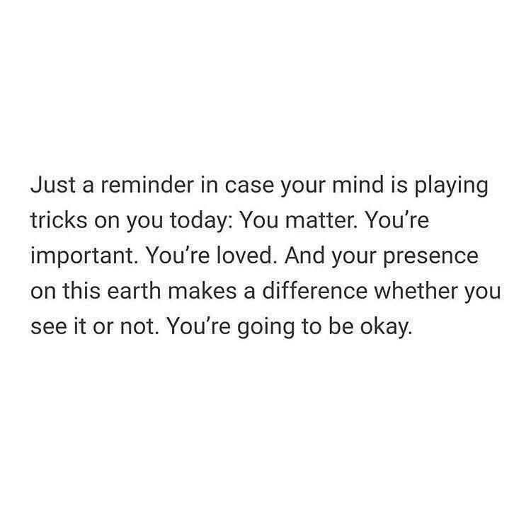 This is for anybody doubting themselves right now.