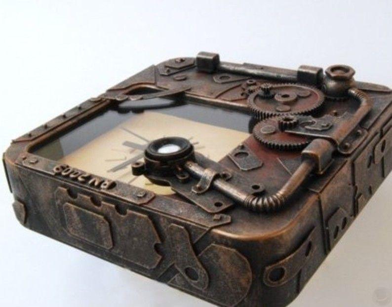 Steampunk Cardboard Clocks - https://t.co/vYz607RqGz  #Steampunk #Watch
