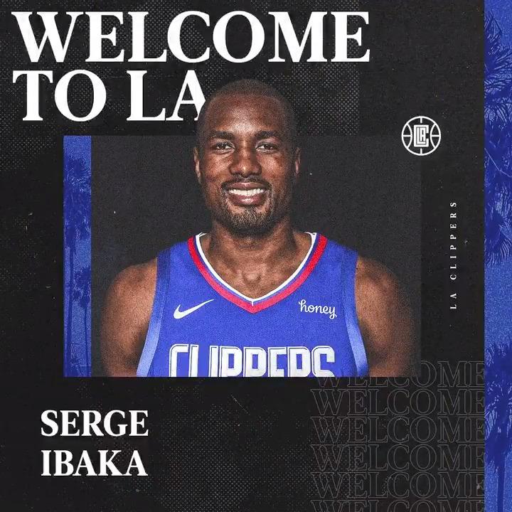 Ma Fuzzy Man is coming to LA.  📼 @sergeibaka https://t.co/EfWEtDeLDR
