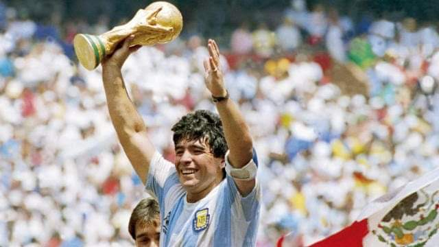 The man who scored the two most infamous goals in the history of the game! That too in a same match within 5 mins...  RIP Diego! You will be remembered!   #RIPMaradona #legend #TheGreatest #icon #GOAT