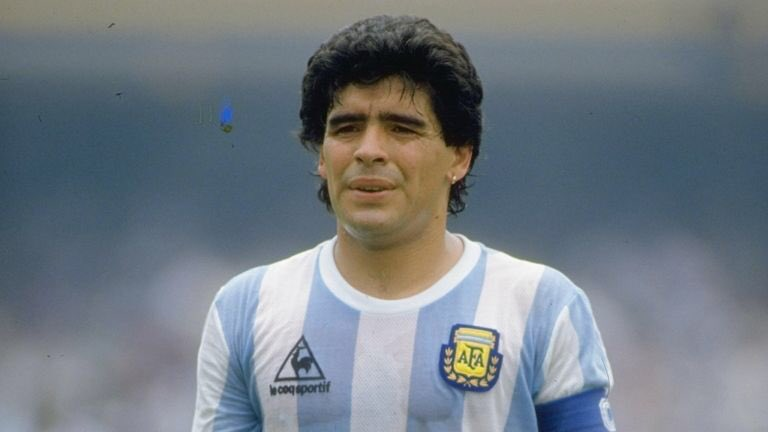 Legend is a very overused word these days, not for this man. The best I've ever seen #legend #genius #icon RIP Diego