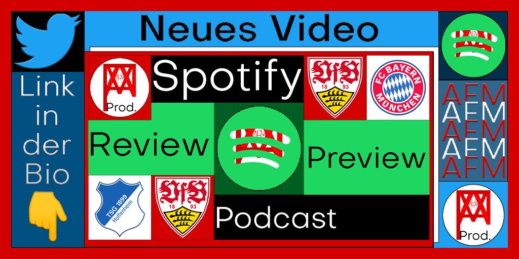 Ein spektakuläres 3:3 mit Lucky Punch!  Können wir was gegen die Bayern holen? ⚪🔴 Youtube: AFM / Kanallink in der Bio Spotify: VfB Stuttgart Podcast AFM / https://t.co/A4Z0KiitGL #tsgvfb #vfb #vfbfcb #bundesliga #stuttgart #hoffenheim #bayern #münchen #auswärts #podcast https://t.co/XvFkbPPatx
