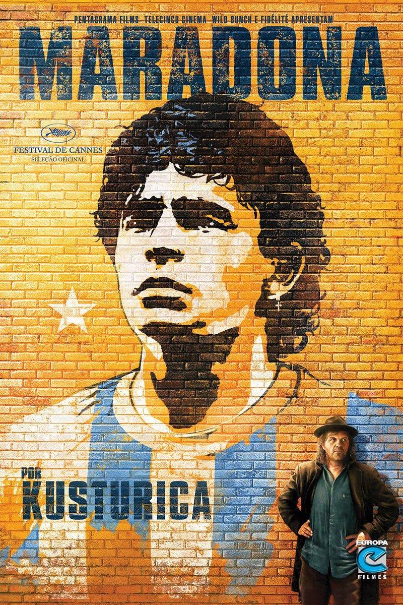 #rebel #genius #icon #Maradona   Impressive documentary by #kusturica