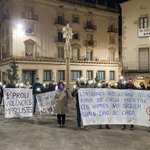 Image for the Tweet beginning: #ARAMATEIX acte reivindicatiu a #Tàrrega