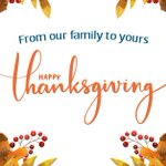 Image for the Tweet beginning: Happy #Thanksgiving from HSLDA!