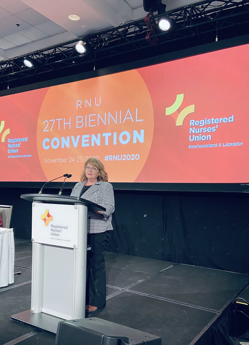Congratulations to @yvette_coffey on becoming the new president of the @RNU_NL.   I look forward to working with you as you represent your hard-working members. https://t.co/mSD4ARFnS5