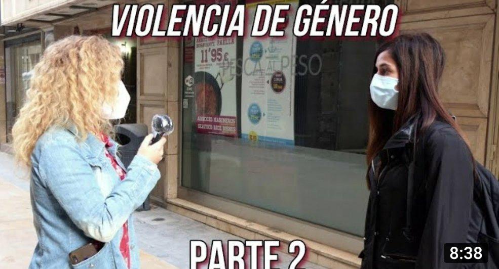 Segunda parte del vídeo ya:   #ViolenciaDeGenero #ViolenciaContraLaMujer #ViolenceAgainstWomen #violencesfaitesauxfemmes #diacontralaviolenciadegenero #DiaContraViolenciaGenero #feminismo #25Nov #25Noviembre #25novembre2020 #Espana
