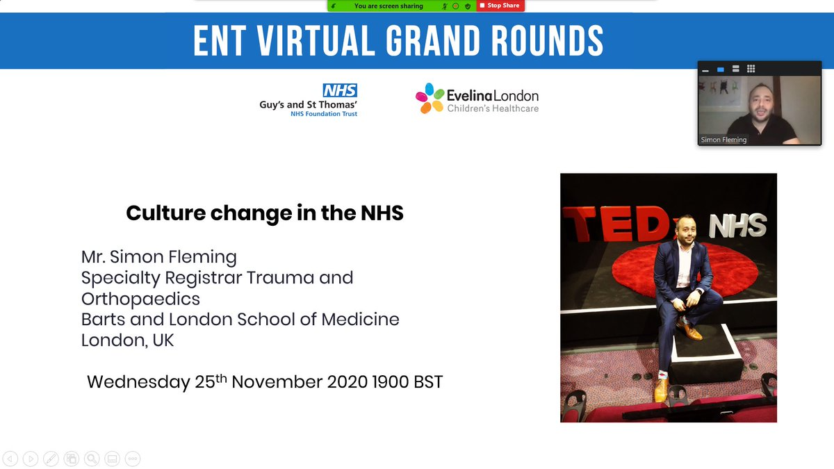 Come join us with @OrthopodReg talking about Culture change in the #NHS.  #AntiBullyingWeek #CultureChange