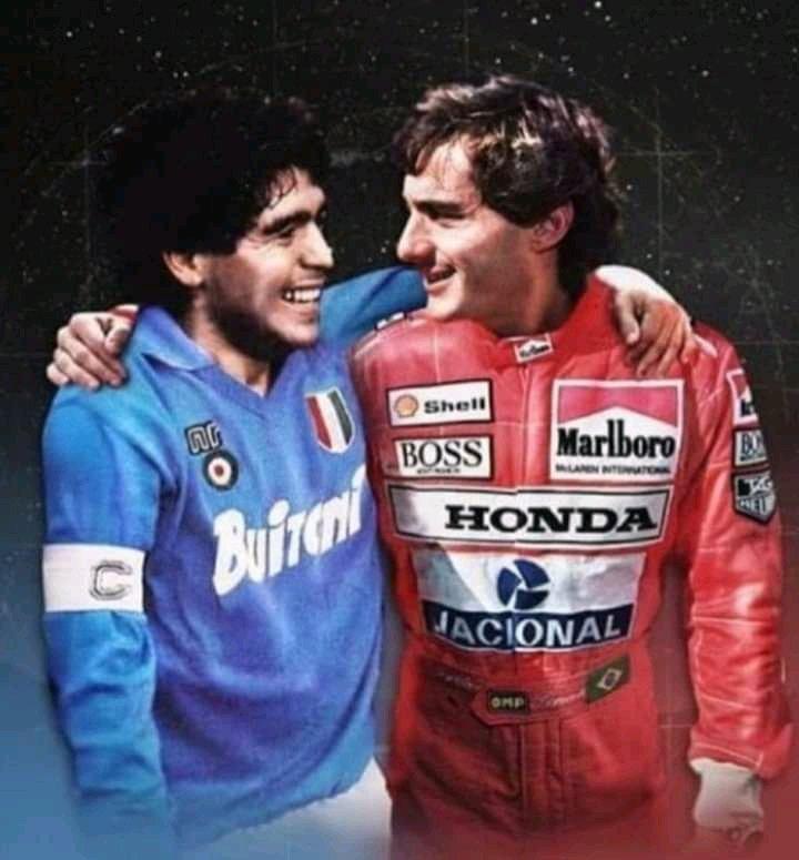 #Maradona #diegomaradona #GraciasDiego #futbol #F1 #Formula1 SIMPLY...THE BEST! https://t.co/xBsKtUh6s4