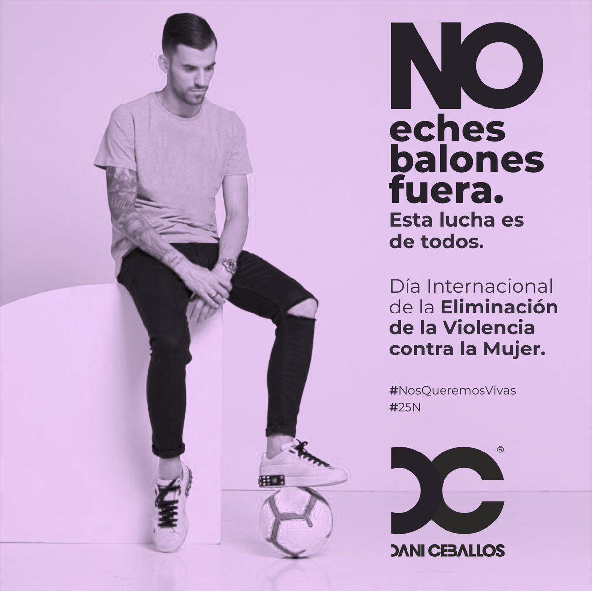 ✋🏻Don't wait for the ball to drop. This is everyone's fight.💪  ✋🏻No eches balones fuera.  Esta lucha es de todos💪  #notonemore #25N #NosQueremosVivas #InternationalDayOfEliminationViolenceAgainstWomen #DíaInternacionalDeLaEliminaciónDeLaViolenciaContraLaMujer