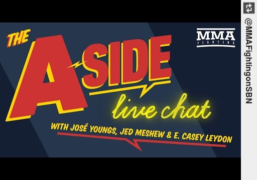 Watch The A-Side Live Chat: #UFC255 Fallout, Figueiredo, Shevchenko, Fight Circus, Tyson https://t.co/hXciIi4dK3 #mma https://t.co/5VJpOyudVT