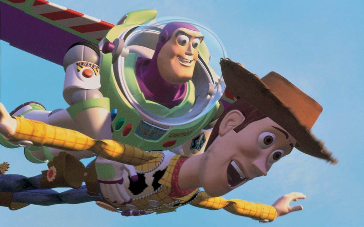 Thinking of the day, 25 years ago, our parents took us to the El Capitan to see a new kind of movie. We've loved it ever since. Happy #ToyStory25.