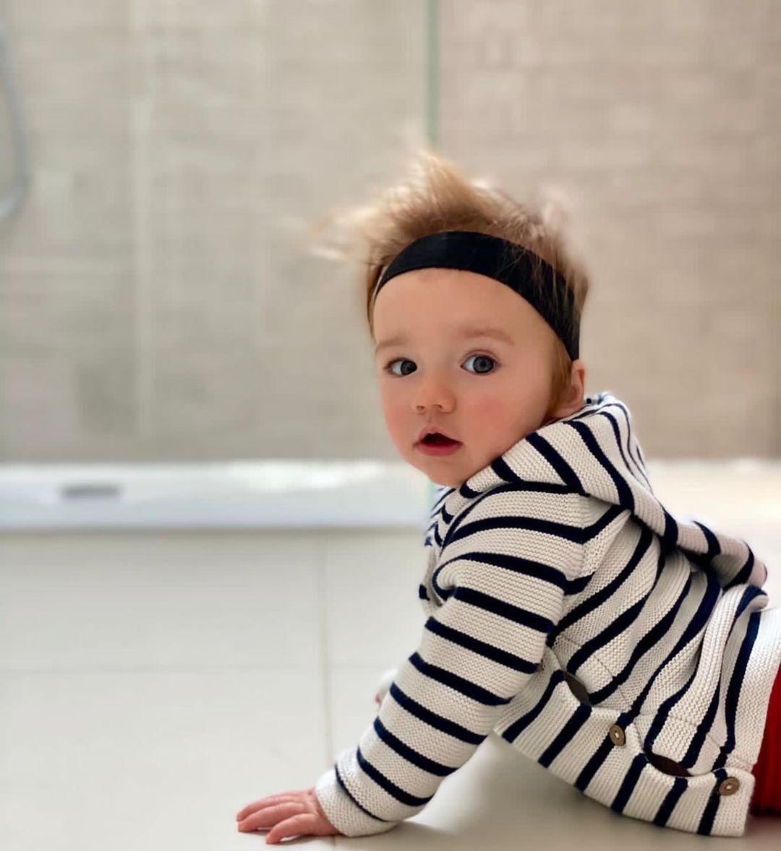 SO TENDER!!!🎠🌈 Awww 🥰Princess Mabel 💫👑, we really missed u a lot 💗🌸 #Repost @CTWolstenholme • • • My little princess ❤️❤️❤️