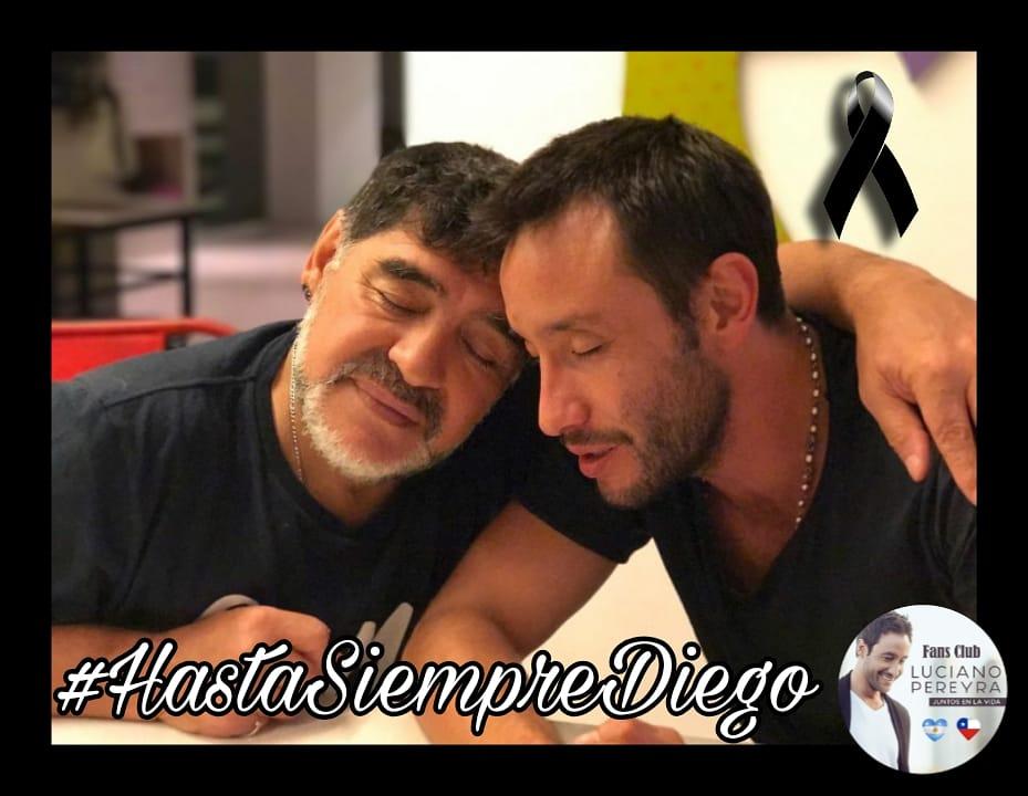 #Repost @LucianoPereyra (with @report.for.insta) ... Descansá!! Hasta siempre maestro!! #HastaSiempreDiego 😢🇦🇷 Mi corazón con toda su flia!🙌🏽🙏🏽