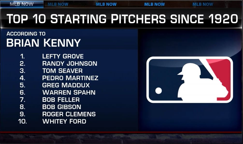 Who's your top starting pitcher of the Modern Era? Full #MLBNow discussion - atmlb.com/39gjgEQ