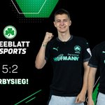 Image for the Tweet beginning: 5:2 Derbysieg in der @vbl_official.