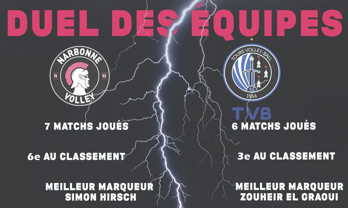[CENTURIONS] #J-1Duel💪😁  J-1 avant le choc face au @ToursVolleyBall. Un match...