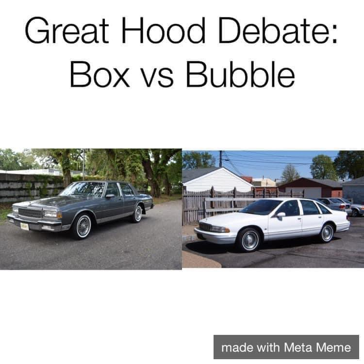 Which one did yall like??? (I was a Bubble caprice man myself)