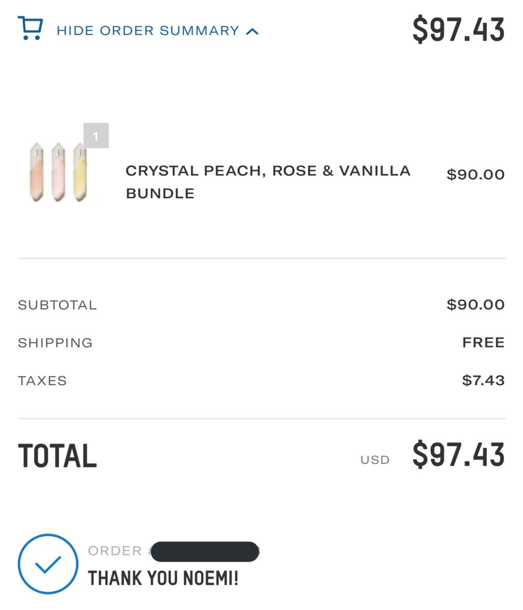 PURRRRR! my crystal collection is complete! @KKWFRAGRANCE @KimKardashian