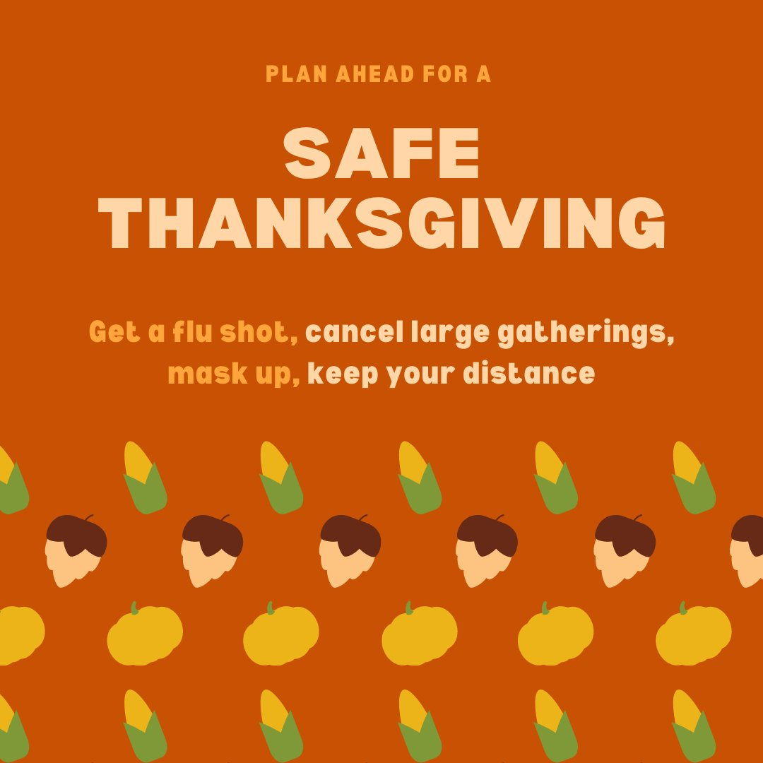 This #Thanksgiving, be grateful for the ways you can protect yourself and others: Be sure to get your #flu shot! Contact your healthcare provider today. #GotMIVax #IVaccinate
