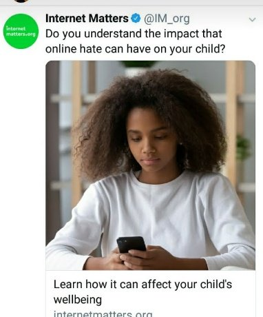 Especially  in this current times as our children and young people  are spending  more time on their  devices, and in #AntiBullyingWeek I asked parents, How tec savvy are you, are you down with the lingo? Are you spotting the signs of concern ? I'm swatting up using @IM_org 👍🏾