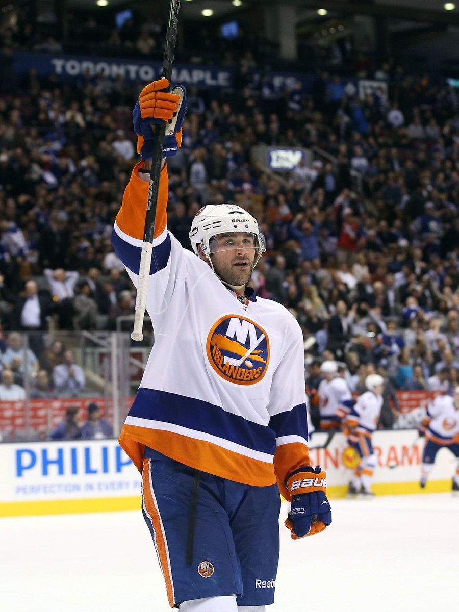 Warrior, leader, role model... You left it all out on the ice every night. Thank you, @joboych. #55 #isles