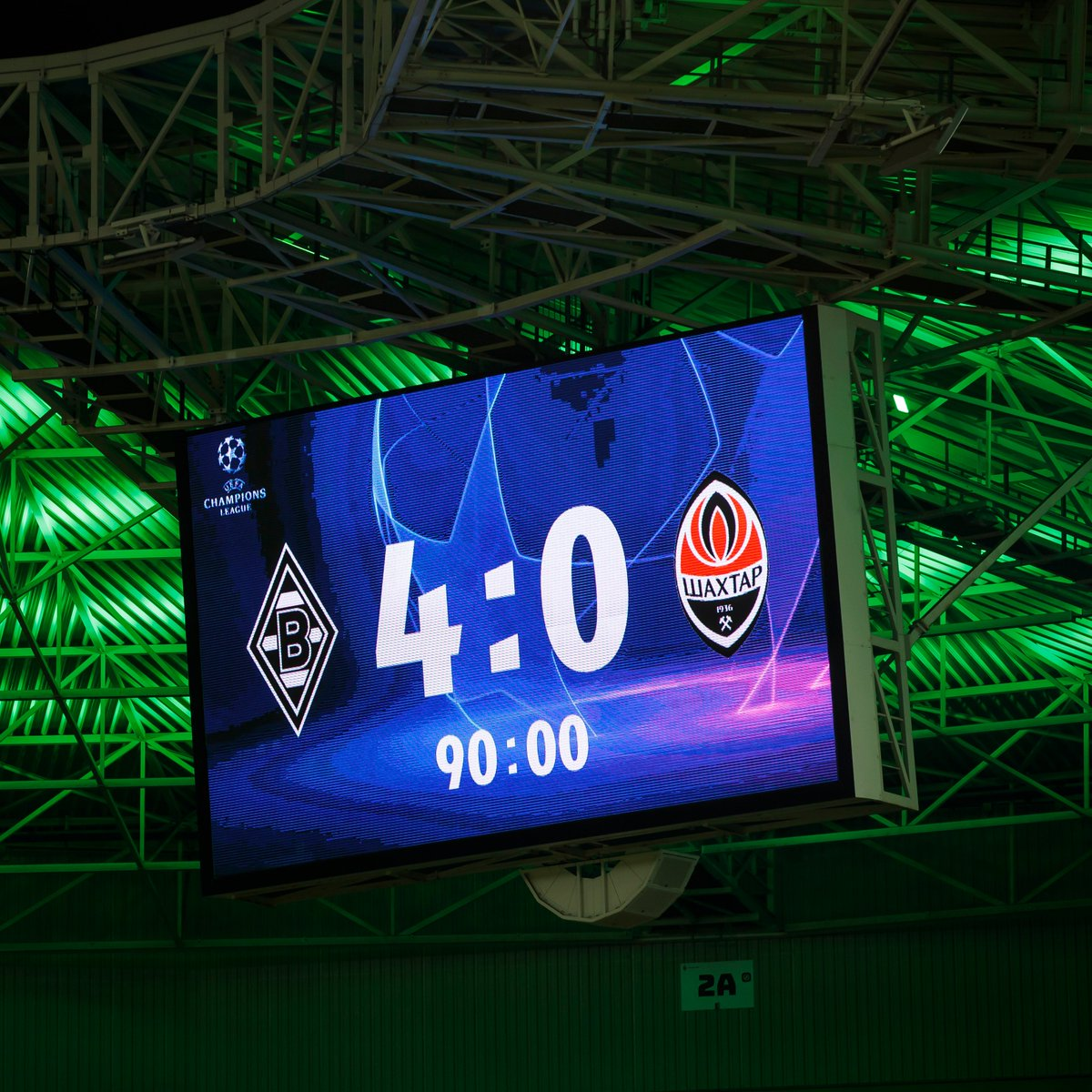 @ChampionsLeague's photo on Gladbach