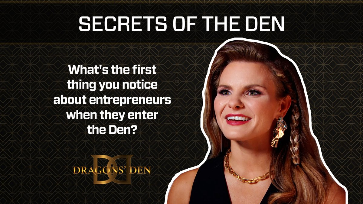 You know what they say... You never get a second chance to make a first impression. Here are the key things the Dragons notice as soon as an entrepreneur steps foot into the Den.   Tune in TONIGHT at 9 p.m. for a first impression you won't forget... 😳 #cbcdragonsden