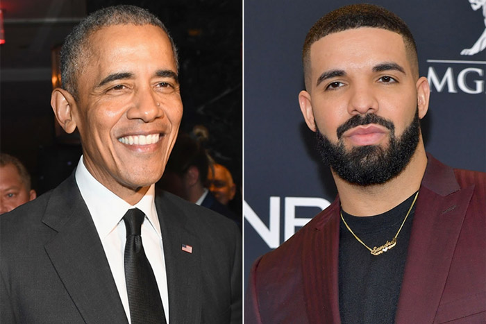 """Obama says Drake has his """"stamp of approval"""" to play him in a movie https://t.co/pwhgt5k6Ny https://t.co/UShO0bSsML"""