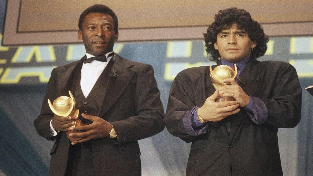 Pele offers emotional tribute to 'great friend' Diego Maradona