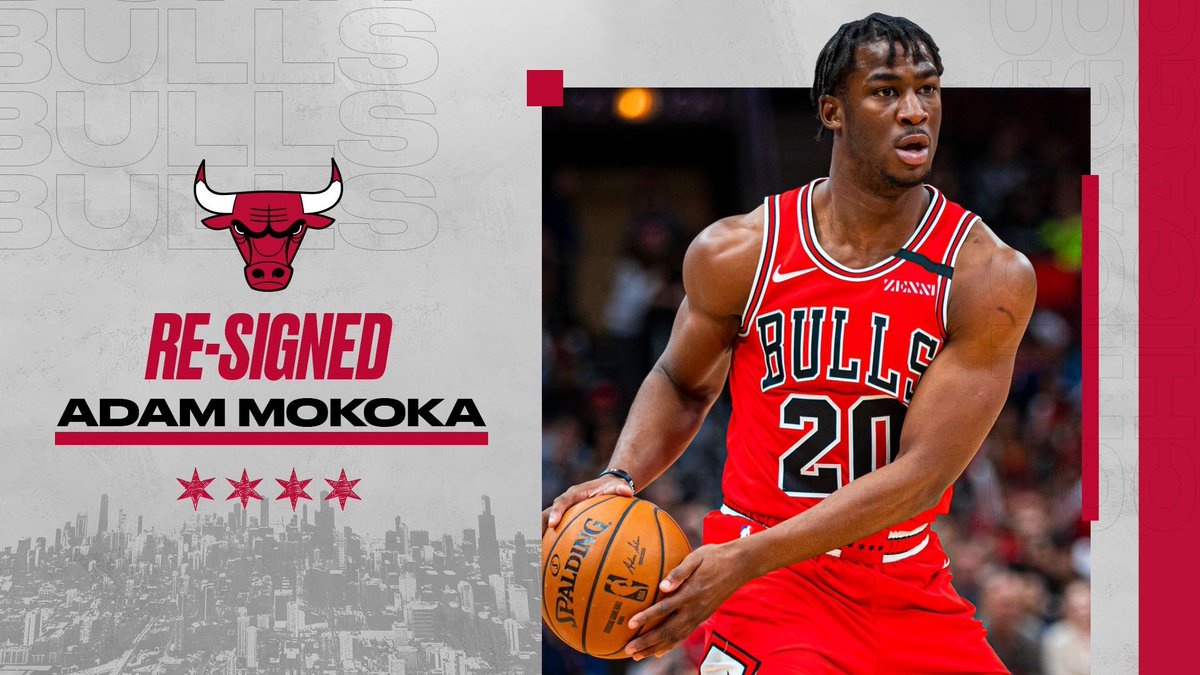 We have re-signed guard Adam Mokoka to a Two-Way contract.  Welcome back, Adam! 🇫🇷