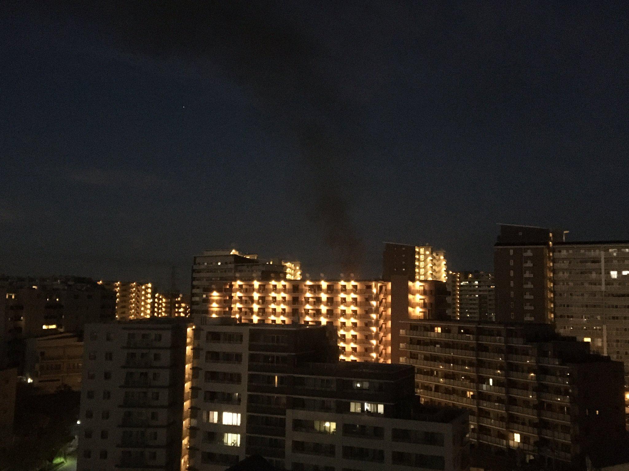 画像,桃山台の方が火事や! https://t.co/IzDnL6QMFC。