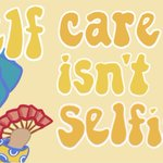 Image for the Tweet beginning: Self-care is the best care!