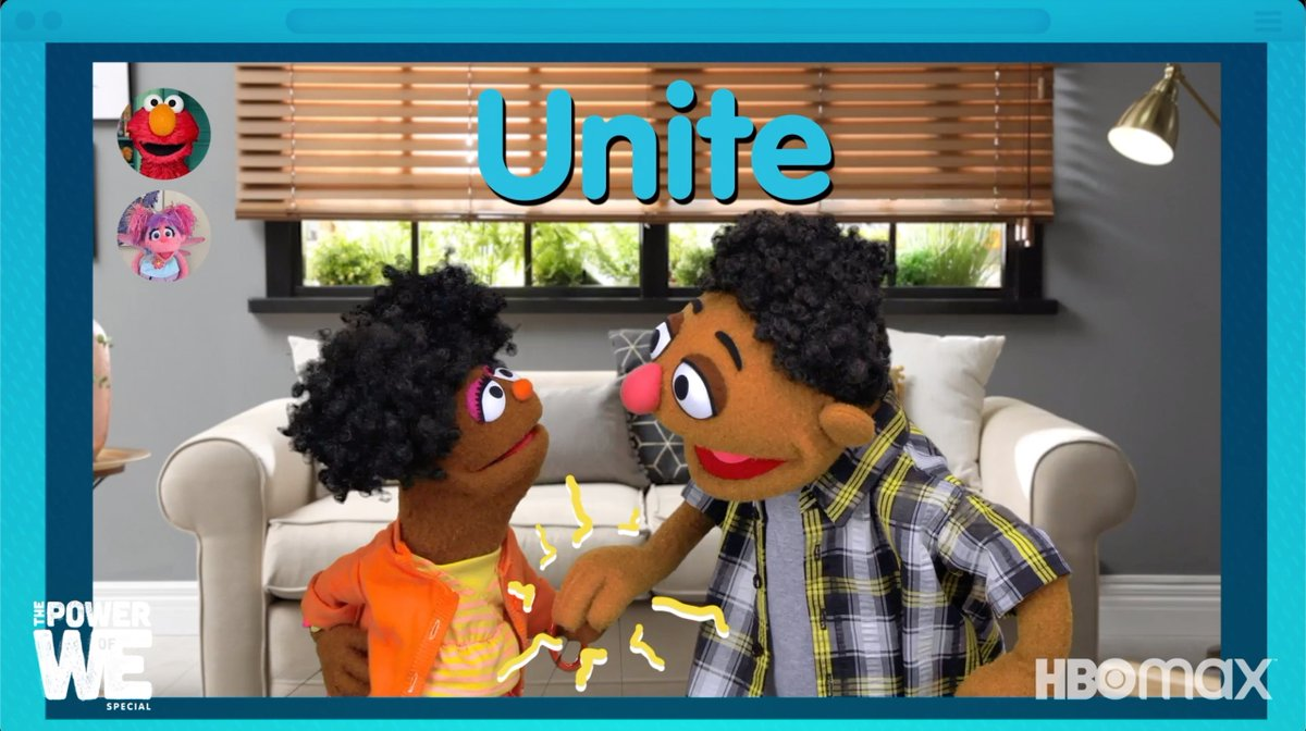 Sesame Street makes working together to do the right thing downright catchy ☀️🎶 The Power of We is streaming now on HBO Max!