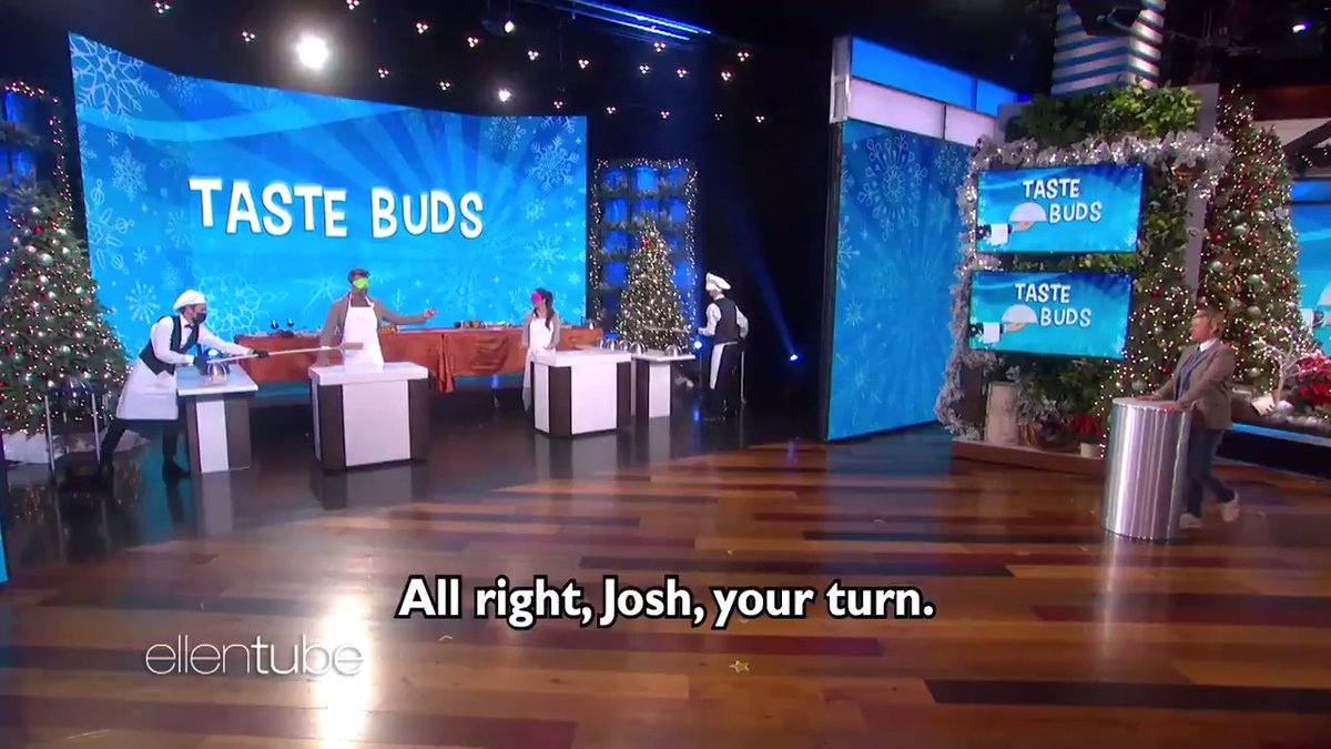 Please enjoy @JoshDuhamel and @OliviaMunn playing #TasteBuds.