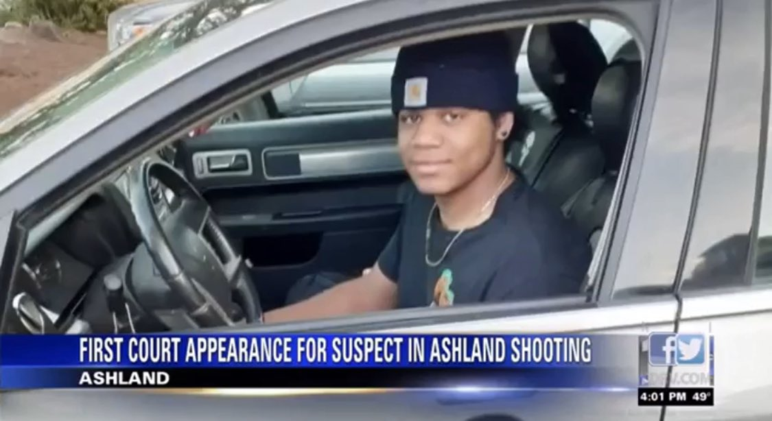 Aidan Ellison, 19 year old black youth murdered on 11/23 at the Stratford Inn in Ashland Oregon by white 48 year old Robert Keegan for playing his music too loud. Say his name.