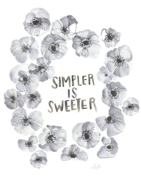 Simpler Is Sweeter - #Citations #GoodQuotes #InspirationalQuotes #InspiringQuotes #LifeQuotes #MotivationalQuotes #PositiveQuotes #QuoteOfTheDay #Quotes #QuotesOnLife https://t.co/dNmkVTwlhT https://t.co/8sVzEefOwf