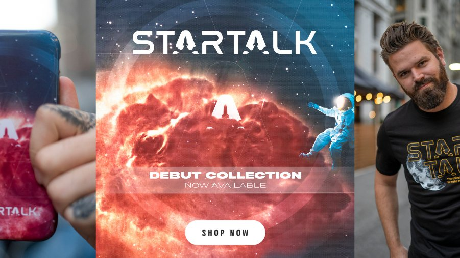 It's a great day to remind everyone around you that science is true whether or not they believe in it 😬  Turn that potential energy into kinetic energy and head to our store for new #StarTalk merch now!