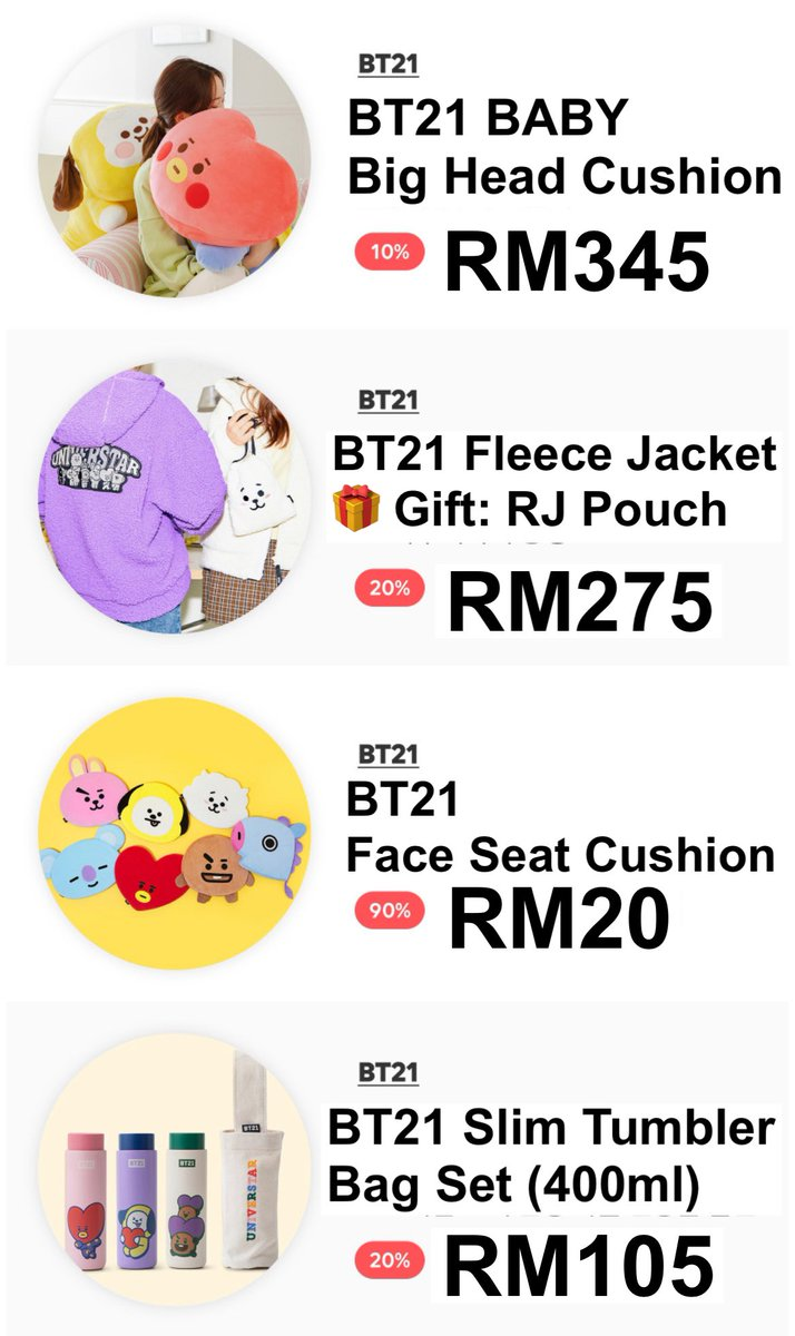 HELP RT | #BTS MY GO 🇲🇾 — #BT21 Brand Day 🔥 1 Day SALE only 🔥 ~ 26/11/2020 ~   💰1st Payment able to screenshot your item and DM📩  🔗 Link:  ⚠️ While stock last ~ some items sold out fast  📅 Deadline: 26 NOV, 10PM 💜 ORDER FORM :