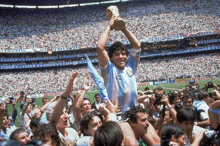 Rest in peace, legend! A big loss to the world of sport. Farewell, Maradona.